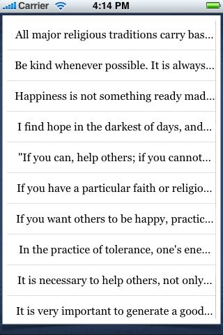 Dalai Lama Quotes screenshot #3