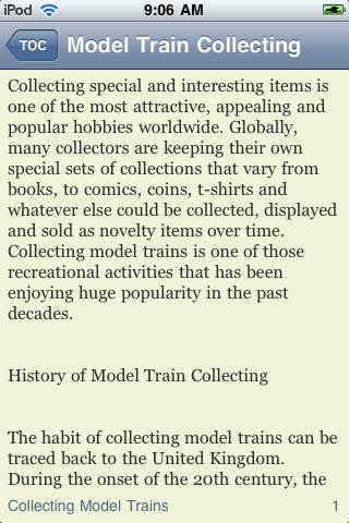 Model Train Collecting screenshot #3