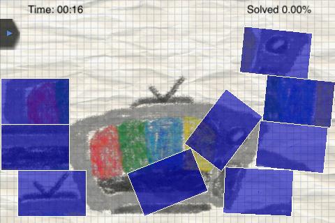 Crayon Puzzle Physics screenshot #1
