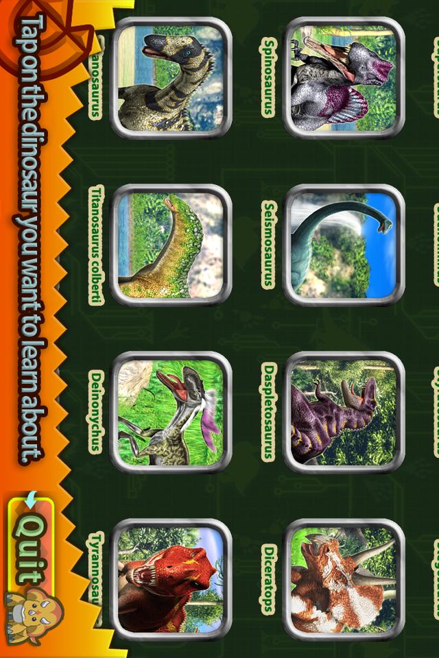 Dinosaur King D-Team Adventures A Dinosaur Pict... screenshot 2