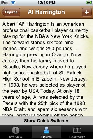 All Time Golden State Basketball Roster screenshot #2