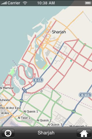 iMapsPro - Sharjah screenshot #2