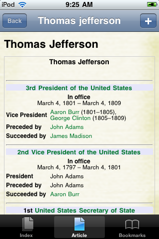 Thomas Jefferson Study Guide screenshot #1