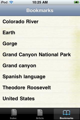 The Grand Canyon Study Guide screenshot #3