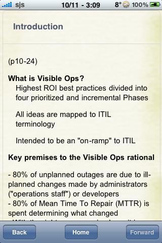 Book Notes - The Visible Ops Handbook screenshot #2