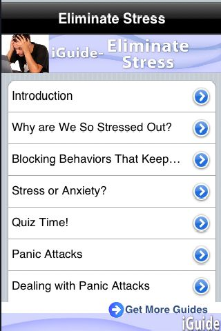 iGuides - Eliminate Stress screenshot #1