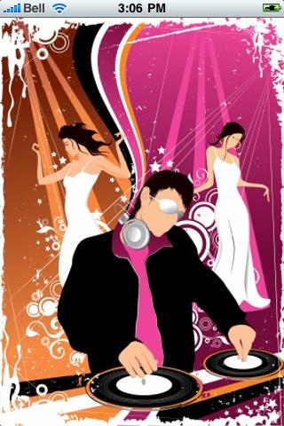 DJ Spinning Slide Puzzle screenshot #1