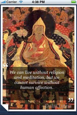 Dalai Lama Quotes screenshot #1
