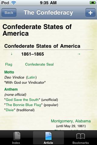 The Confederacy Study Guide screenshot #1