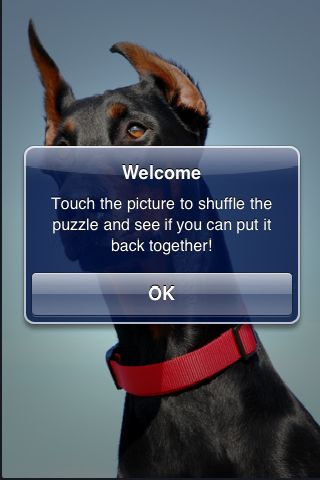 SlidePuzzle - Doberman screenshot #3