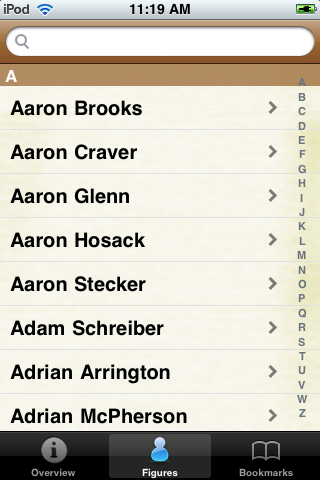 All Time New Orleans Football Roster screenshot #1