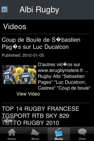 Rugby Fans - Albi screenshot #3