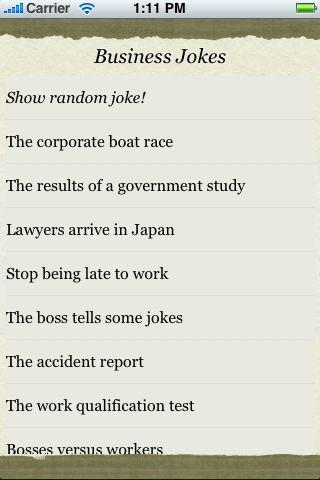 Business Jokes screenshot #3