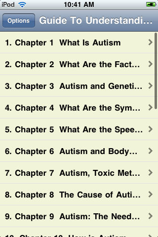 Guide To Understanding Autism screenshot #2