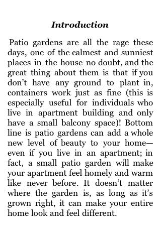 Growing a Patio Garden screenshot #1