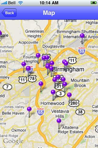 Birmingham, Alabama Sights screenshot #1