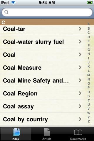 Coal Study Guide screenshot #2