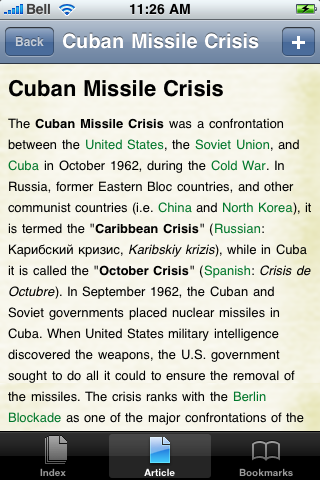 Cuban Missile Crisis Study Guide screenshot #1