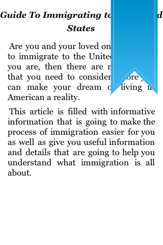 Guide to Immigrating to the United States screenshot #5