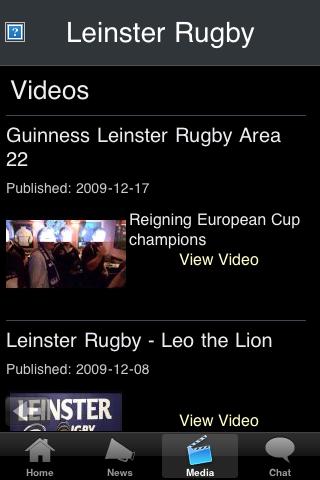 Rugby Fans - Leinster screenshot #3