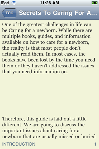 Secrets To Caring For A Newborn screenshot #3