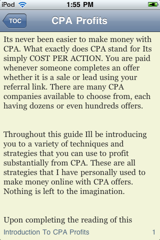 CPA Profits screenshot #3
