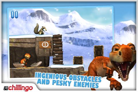 Ice Age: Dawn Of The Dinosaurs Lite screenshot 4