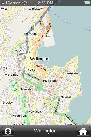 iMapsPro - Wellington screenshot #2