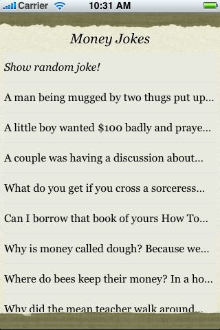 Money Jokes screenshot #3