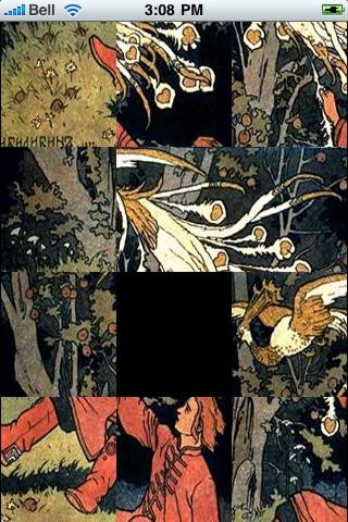 Fairy Tale Slide Puzzle screenshot #3