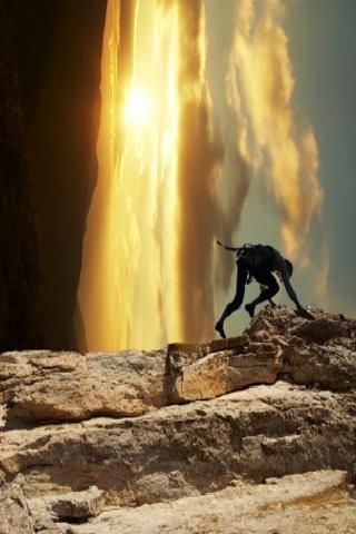 Rock Climbing Slide Puzzle screenshot #1