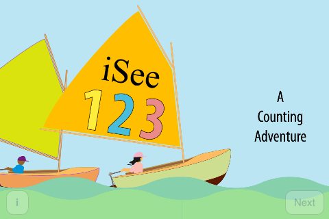iSee123 -A Counting Adventure screenshot 1