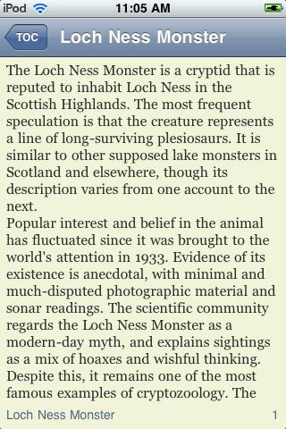 The Loch Ness Monster screenshot #3