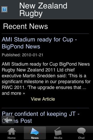 Rugby Fans - New Zealand screenshot #2