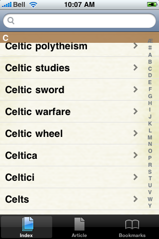 The Celts Study Guide screenshot #3