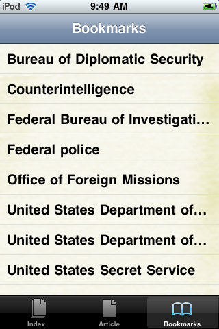 United States Secret Service Study Guide screenshot #3