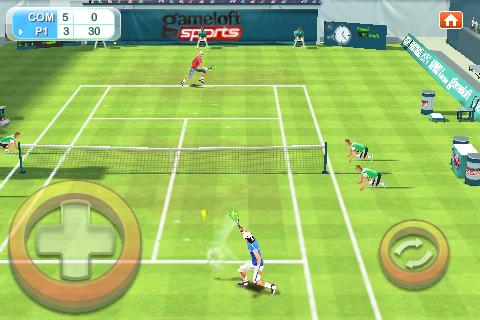 Real Tennis 2009 Free screenshot 1