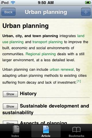 Urban Planning Study Guide screenshot #1