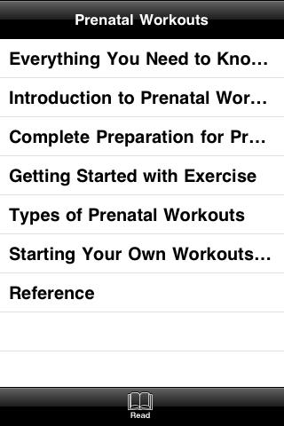 All About Prenatal Workouts screenshot #4