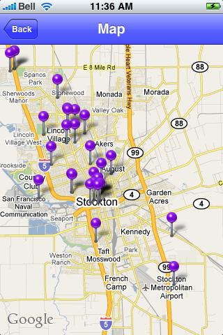 Stockton, California Sights screenshot #1