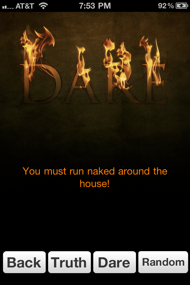Simple Truth or Dare Paid screenshot #1