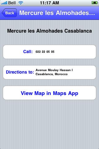 Casablanca, Morocco Sights screenshot #3