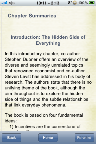 Book Notes - Freakonomics screenshot #2