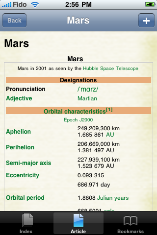 Mars Study Guide image #1