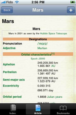 Mars Study Guide screenshot #1
