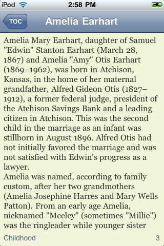 Amelia Earhart - Just the Facts screenshot #3