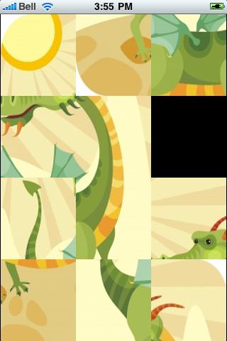 Magic Dragon Slide Puzzle screenshot #3