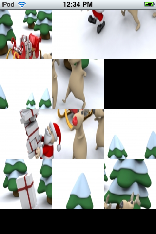 Slide Puzzle - Santa's Delivery screenshot #2