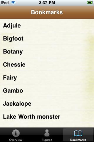 Cryptids Pocket Books screenshot #5