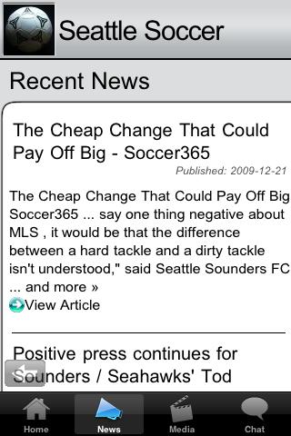 Soccer Fans - Seattle screenshot #3